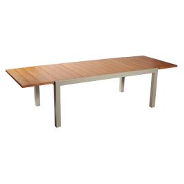 Table de jardin Montréal 200-300 x 110 cm