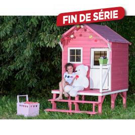 Maisonnette pour enfant Lena 1,94 x 1,26 x 2,17 m
