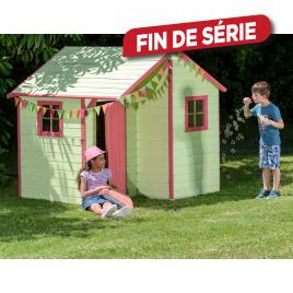Maisonnette pour enfant Lucy 1,62 x 1,59 x 2,17 m