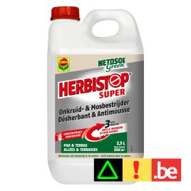 Désherbant Herbistop pour allée et terrasse 2,5 L COMPO