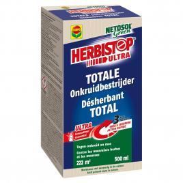 Désherbant total Herbistop pour toutes les surfaces 500 ml COMPO