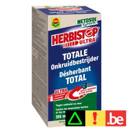 Désherbant total Herbistop pour toutes les surfaces 800 ml COMPO