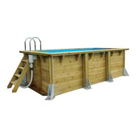 Piscine avec liner bleu UrbanPool 2,5 x 4,5 x 1,4 m UBBINK