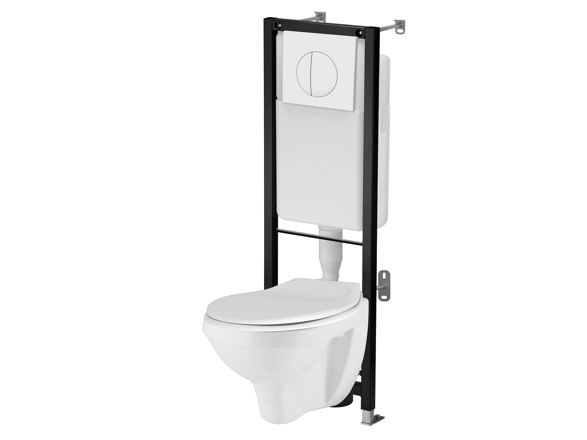 Wc Suspendu 4 Pieds pack de wc suspendu initia lafiness - mr.bricolage