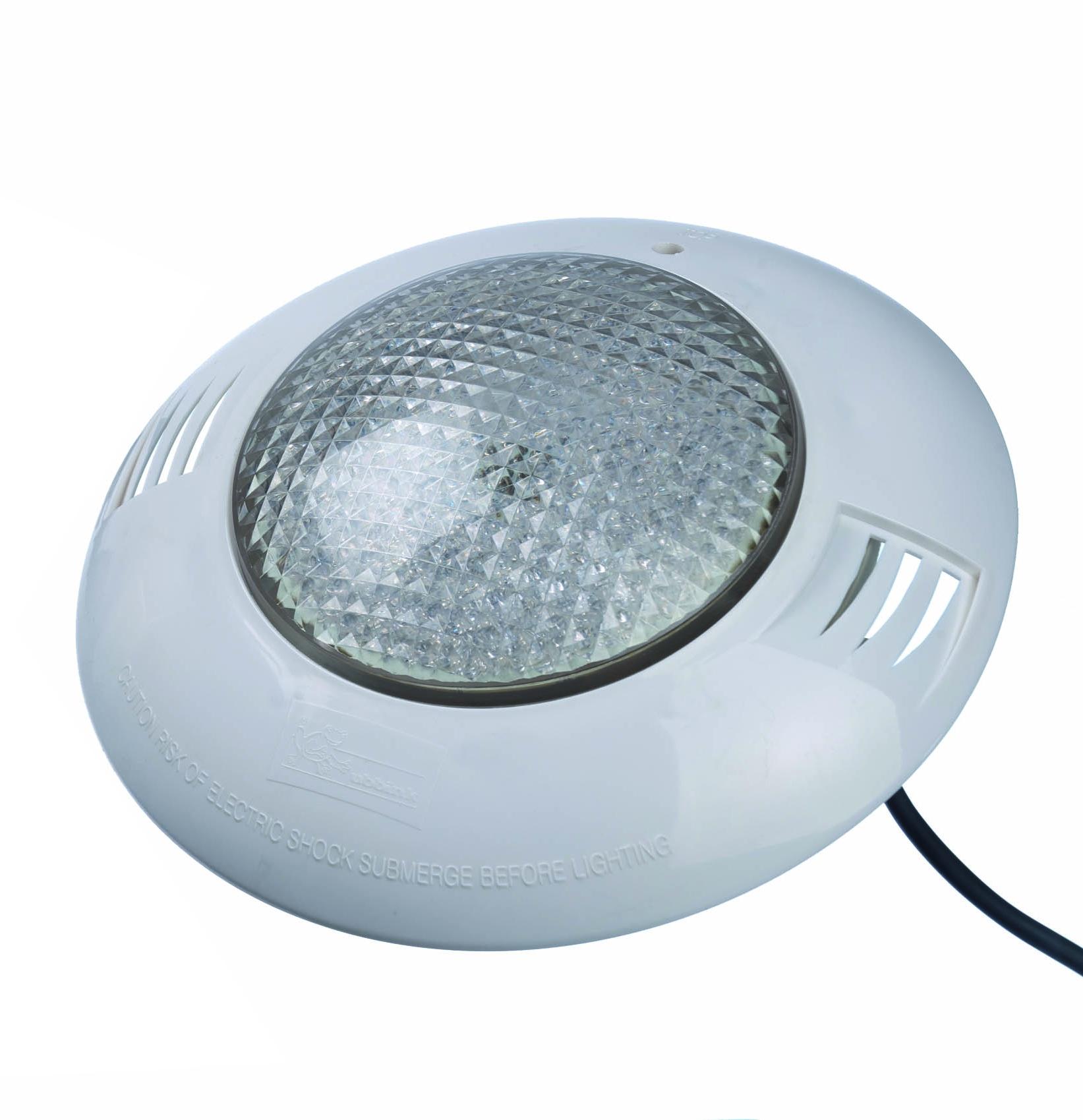 Eclairage Pour Piscine Tubulaire spot blanc pour piscine led 24 w ubbink - mr.bricolage