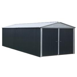 Garage en métal 2,97 x 6,42 x 2,21 m