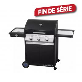 Barbecue au gaz Meridian Black