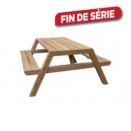 Table de pique-nique Lubin 180 x 150 x 75 cm CARTRI