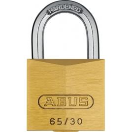 Cadenas à clé en laiton massif 30 mm ABUS