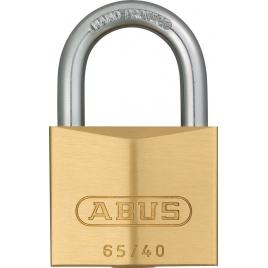 Cadenas à clé en laiton massif 40 mm ABUS