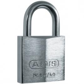Cadenas à clé en laiton massif avec anse en acier inox 40 mm ABUS