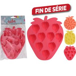 Moule à glaçons en forme de fruit 19 x 14 x 1,5 cm