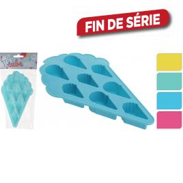 Moule à glaçons en forme de cornet de glace 20 x 11 x 2 cm