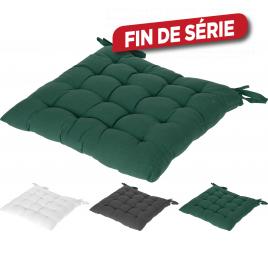Coussin de chaise en coton 40 x 40 cm