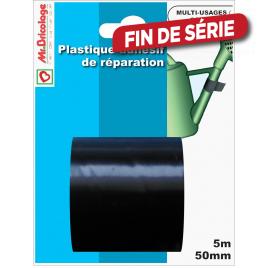 Adhésifs réparation noir 5 m x 50 mm