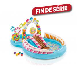 Aire de jeux gonflable Candy 295 x 191 x 130 cm INTEX