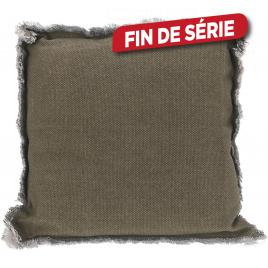 Coussin de chaise beige 40 x 40 x 8 cm