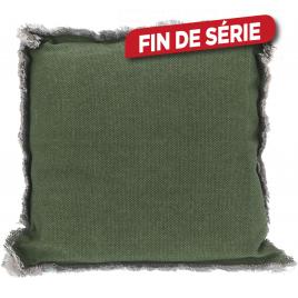 Coussin de chaise vert 40 x 40 x 8 cm