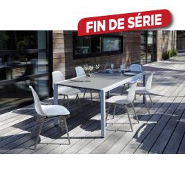 Ensemble de jardin Dina : 1 table et 6 chaises