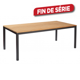 Table de jardin Axial 200 x 100 x 76 cm