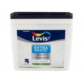 Peinture murale blanc mat 5 L LEVIS