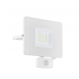 Projecteur blanc avec détecteur de mouvement Faedo 3 LED 30 W EGLO