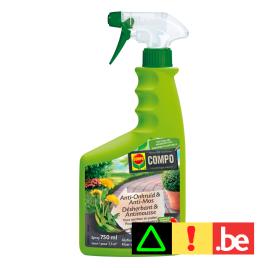 Herbicide et anti-mousse pour allées et sentiers 750 ml COMPO