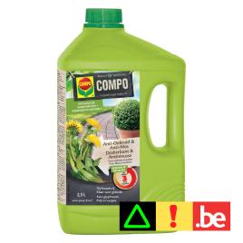 Herbicide et anti-mousse naturel pour allées et sentiers 2,5 L COMPO