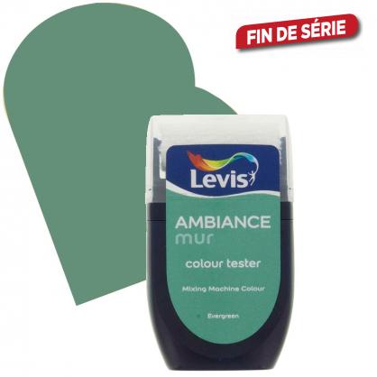 Testeur peinture murale Ambiance evergreen 30 ml LEVIS