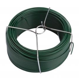 Fil plastifié vert avec bobine GIARDINO - 2 mm x 10 m