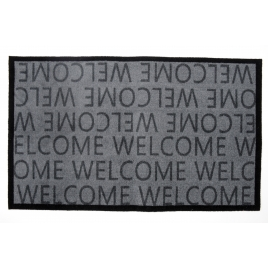 Paillasson décoratif Élégance Welcome 50 x 80 cm ADVOTEX