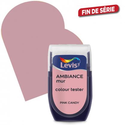 Testeur peinture murale Ambiance pink candy 30 ml LEVIS