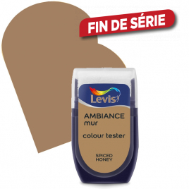 Testeur peinture murale Ambiance spiced honey 30 ml LEVIS