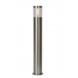 Potelet extérieur chromé Fedor E27 40 W dimmable LUCIDE