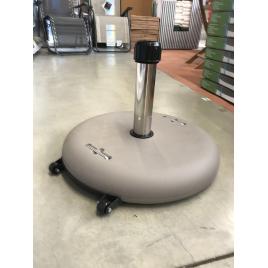 Pied de parasol avec roulette 40 kg