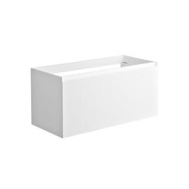 Meuble sous-plan Nordik 100 cm blanc ALLIBERT