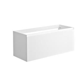 Meuble sous-plan Nordik 120 cm blanc ALLIBERT