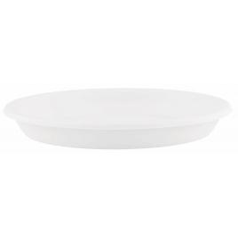 Soucoupe ronde blanche Ø 20 cm