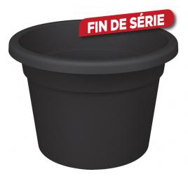 Pot de fleurs noir Cilindro Ø 20 x 14 cm
