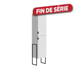 Colonne de salle de bain Faktory 40 cm blanc mat ALLIBERT