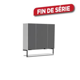 Armoire de toilette Faktory 80 cm blanc mat ALLIBERT
