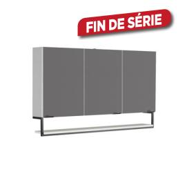 Armoire de toilette Faktory 120 cm blanc mat ALLIBERT