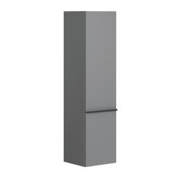 Colonne de salle de bain à suspendre Santiago 40 cm gris onyx ALLIBERT