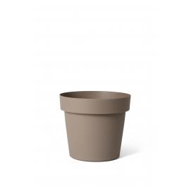 Cache-pot Tortora Happy Ø 14 x 13 cm