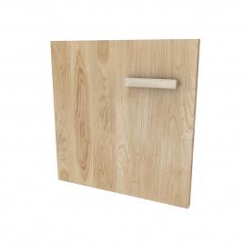 Set de portes pour caisson Fjord 60 cm bois naturel 2 pièces AURLANE