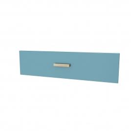 Façade de tiroir pour caisson Fjord 60 cm laqué bleu AURLANE