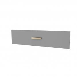 Façade de tiroir pour caisson Fjord 60 cm gris AURLANE