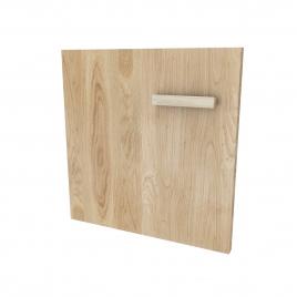 Set de portes pour caisson Fjord 80 cm bois naturel 2 pièces AURLANE