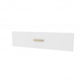 Facade de tiroir pour caisson Fjord 80 cm laqué blanc AURLANE