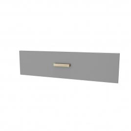 Facade de tiroir pour caisson Fjord 80 cm gris AURLANE